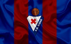 Lataa kuva Eibar fc, football club, tunnus, Eibar-logo, La Liga, Eibar, Espanja, LFP, Espanjan Jalkapallon Mm-Kilpailut