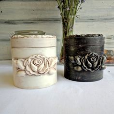 Natural wood tea jar, Jar for coffee, Wooden spice storage Tea And Coffee Jars, Tea Jar, Frame Crafts, Diy Frame, Iron Orchid Designs, Diy Crafts For Adults, Wooden Keepsake Box, Painted Jars, Farmhouse Christmas Decor