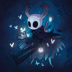 Want to discover art related to hollowknight? Check out inspiring examples of hollowknight artwork on DeviantArt, and get inspired by our community of talented artists. Character Concept, Character Art, Character Design, Fantasy Creatures, Mythical Creatures, Hollow Night, Hollow Art, Knight Art, Illustrations