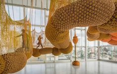 Ernesto Neto's Woven Installations | 22 Dreamy Art Installations You Want To Live In