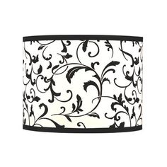 Filigree Drum Lamp Shade from Destination Lighting by Design. $19.95. Black and white filigree drum lamp shade with powder coated white spider assembly. Offering unique collections from a consortium of designers, Design Classics features more than 1,300 elegantly styled yet affordable priced items; many of which are exclusive, signature designs. As a direct importer, the company provides the most competitive pricing without compromising quality or innovation. Hallmar...