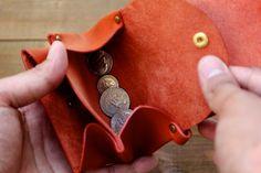 ナチュラルな革の財布 | 革小物のDURAM FACTORY