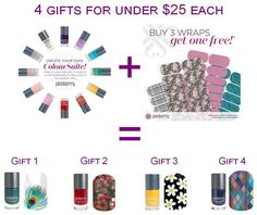Gifts for $25 and under!  Get your wife, daughter, or mom the perfect gift!