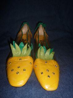 a9ea6b059de Zalo pinapple shoes Real cute size 7 1 2