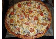 Hawaiian Pizza, Pepperoni, Quiche, Calzone, Finger Foods, Vegetable Pizza, Food And Drink, Hamburger, Menu
