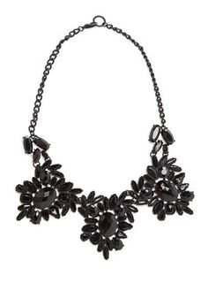 Halskette mit Kristallsteinen