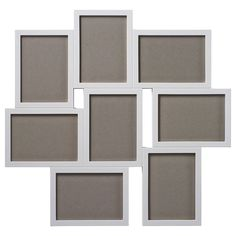 IKEA - VÄXBO, Collage frame for 8 photos, Holds 8 pictures so you can create your own personal collage.The frame is made of plastic, which makes it strong, lightweight and easier to handle.