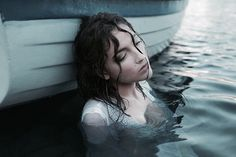 Conceptual Portrait Photography by Greta Larosa (regretful siren? Water Photography, Portrait Photography, Product Photography, Story Inspiration, Character Inspiration, Ideas Para Photoshoot, Water Shoot, Foto Art, Victor Hugo