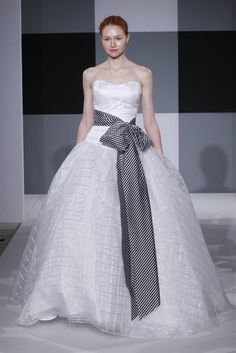 Isaac Mizrahi for Kleinfeld Bridal Fall 2012