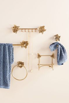 Melody Toilet Paper Holder by Anthropologie in Brown, Hardware - Jewelry Hanging Jewelry Organizer, Jewelry Organization, Jewelry Holder, Hardware Jewelry, Outdoor Wall Art, Best Watches For Men, Bathroom Hardware, Brass Bathroom, Bathroom Fixtures