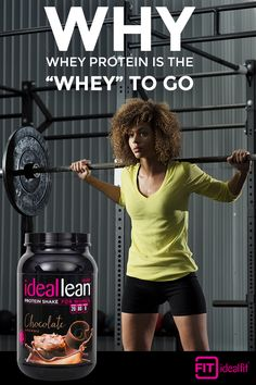 We know women have unique nutritional needs. That's why IdealLean was formulated specifically to meet those needs head on. Fuel your body with whey protein isolate _ the purest form of whey and a complete protein. It contains all the essential amino acids that your body needs to repair muscle after a workout. Learn more at idealfit.com.