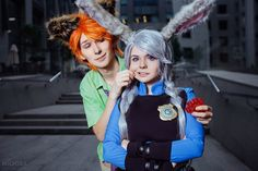 Judy and Nick - Zootopia by fenixfatalist on DeviantArt Epic Cosplay, Disney Cosplay, Zootopia Cosplay, Zootopia Nick And Judy, Nick Wilde, Judy Hopps, Disney Pixar, Disney Bound, My Works