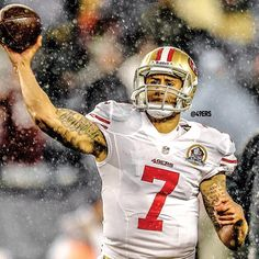 Colin Kaepernick against the Patriots. 12/16/12