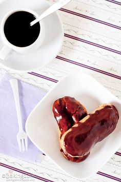 Cinnamon Spice Eclairs - this goes directly to the source, rather than a link to another link (which I hate for some reason).  This looks easy AND fun! (And delicious!)