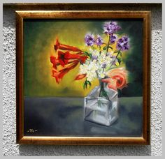 """""""Flowers of summer"""" oil paintings"""
