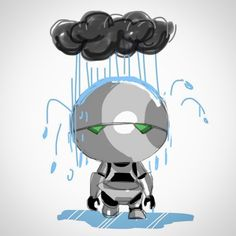 Marvin The Paranoid Android Hitchhikers Guide To The