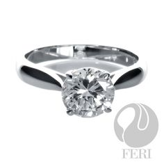 - 925 fine sterling silver - 0.5 micron natural rhodium plating - Set with AAA white cubic zirconia - Dimension:  Invest with confidence in FERI Designer Lines https://www.globalwealthtrade.com/vdm/display_item.php?referral=jgala&category=12&item=2405&cntylng=&page=2