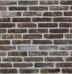 Svart patinerad, svart tegel från Gamle mursten