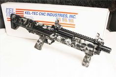 You're not bulletproof..., Kel-Tec KSG A custom finished example of the...