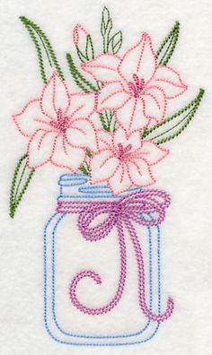 Wonderful Ribbon Embroidery Flowers by Hand Ideas. Enchanting Ribbon Embroidery Flowers by Hand Ideas. Simple Embroidery, Learn Embroidery, Silk Ribbon Embroidery, Crewel Embroidery, Vintage Embroidery, Cross Stitch Embroidery, Embroidery Thread, Eyeliner Embroidery, Russian Embroidery