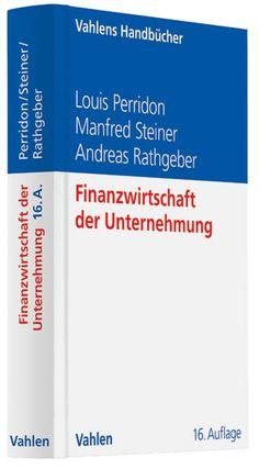 Dieses Lehrbuch ist das Standardwerk für den gesamten Bereich der Investition und Finanzierung nach deutschem Recht. Es ist anspruchsvoll, aber wer einen fundierten Überblick über den aktuellsten Stand der Forschung erhalten möchte, sollte zu diesem Buch greifen.