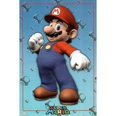 (24x36) Nintendo (Mario) Video Game Poster Print $1.28