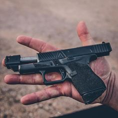 ・・・ The ultimate carry. When the gun is smaller than your hand did a killer job on this with Custom Glock, Custom Guns, Toys For Boys, Boy Toys, Agency Arms, Indoor Shooting Range, M&p Shield, Everyday Carry Gear, Cool Gear
