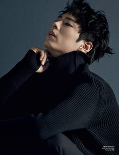 "stylekorea: "" Park Bo Gum for Harper's Bazaar Korea November 2015. Photographed by Mok Jung Wook """