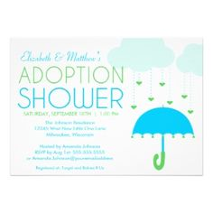 Adoption Shower Invitation Or Baby Shower By Photogreetings T
