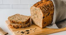 Bake wholemeal spelled bread yourself - crispy and delicious The best baking recipes . - Bake wholemeal spelled bread yourself – crispy and delicious The best baking recipes with guarant - Seafood Recipes, Gourmet Recipes, Bread Recipes, Baking Recipes, Pan Integral, Vegan Breakfast Recipes, Vegetable Drinks, Breakfast Casserole, Tray Bakes