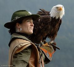 Become a falconer...if it's not too dangerous.
