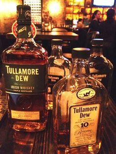 tullamore dew   very understated Irish whiskey. my fave