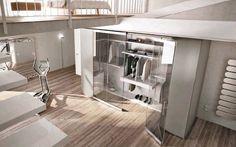 Cabine armadio: Cabina armadio Camerino DB da Caccaro