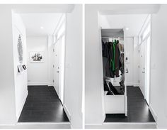 Entryway and closet.