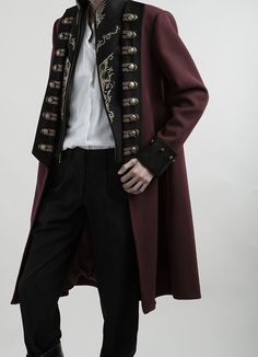 Lost Angel -Spirit of Knight- Embroidery Ouji Lolita Military Lolita Jacket Male Version Outfits Inspiration, Style Inspiration, Traje Casual, Drawing Clothes, Character Outfits, Costume Design, Aesthetic Clothes, Pretty Outfits, Girly