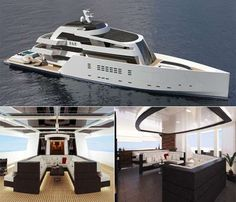 Nick Meza Has Created a New Standard of Luxury for Mega Yachts #yachts trendhunter.com