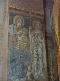 Affreschi del XII secolo in San Fermo Maggiore