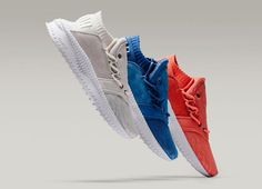 The PUMA Tsugi Shines Collection comes in three women s exclusive colorways  in Marshmallow f88b262c4