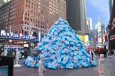 Health-Promoting Sugar Installments - KIND's Sugar Sculptures Warn Parents of Unhealthy Snacks (GALLERY)