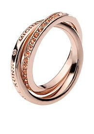 Michael Kors Jewelry Double Band Intertwined Ring Size 6