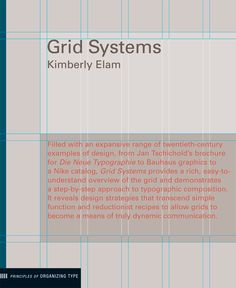 Although grid systems are the foundation for almost all typographic design, they are often associated with rigid, formulaic solutions. However, the belief that all great design is nonetheless based on grid systems (even if only subverted ones) suggests that few designers truly understand the complexities and potential riches of grid composition.
