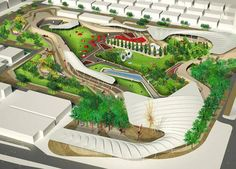 Martha Schwartz Partners (MSP) - Projects - Parks - Khalidiya