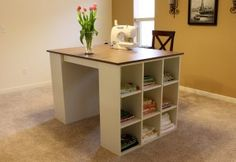 Craft Table Plans