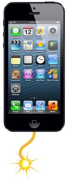 El ataque de los iPhones explosivos: https://www.washingtonhispanic.com/nota15806.html