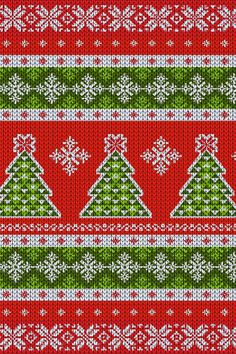 Go retro with a vintage ugly Christmas sweater design! Vintage Christmas Sweaters, Ugly Christmas Sweater, Ribbon On Christmas Tree, Christmas Art, Christmas Phone Wallpaper, Custom Design Shirts, Ugly Sweater Party, Knitting Charts, Sweater Design