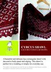 Ravelry: Cyrcus Rectangular Lace Shawl pattern by Madeline Wardrobe