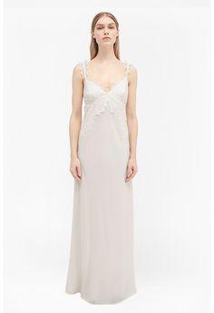 Georgiana Lace Slip Maxi Dress