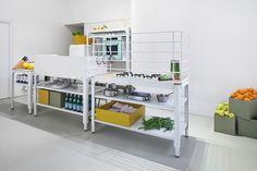 Mobile Küche Mit Corian Arbeitsplatte