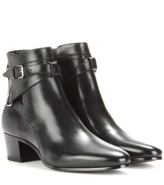 mytheresa.com - Tronchetti Blake 40 Jodhpur in pelle - Luxury Fashion for Women / Designer clothing, shoes, bags