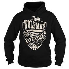 Team WOLFMAN Lifetime Member (Dragon) - Last Name, Surname T-Shirt